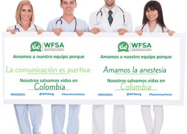 ¿Es anestesiólogo? Únase a la celebración de la WFSA en el día mundial de la especialidad