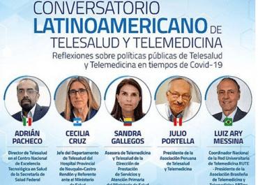 Asista al Conversatorio Latinoamericano de Telesalud y Telemedicina
