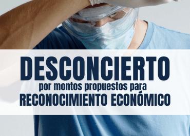 Montos propuestos para reconocimiento económico al personal en salud causan desazón en gremios médicos