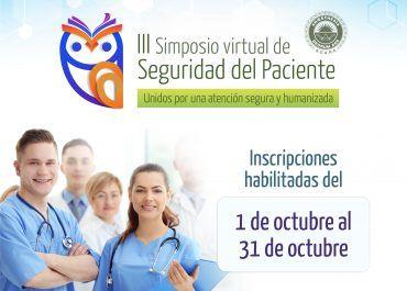 Sea conferencista del III Simposio  de Seguridad del Paciente de la S.C.A.R.E.