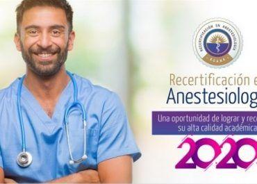 Este 31 de marzo se cierra la cohorte para el proceso de recertificación en anestesiología
