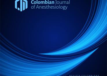 Disponible la más reciente edición de la Revista Colombiana de Anestesiología