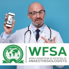 Obtenga puntos para su recertificación en anestesia a través de la WFSA . Descubra cómo hacerlo aquí