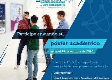 Ascofame abre convocatoria para presentación de pósteres de educación médica