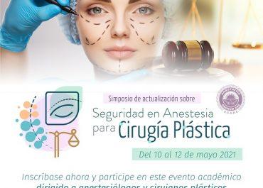 Abiertas inscripciones al Simposio de Seguridad en Anestesia para Cirugía Plástica