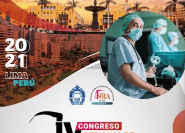 Participe en el IV Congreso peruano de residentes de anestesiología
