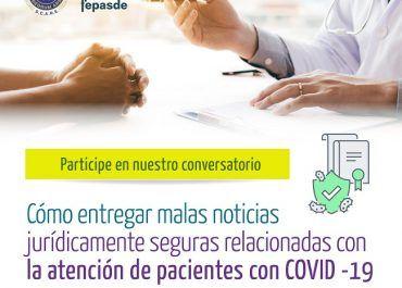 ¿Cómo entregar malas noticias en la atención de pacientes con covid19?